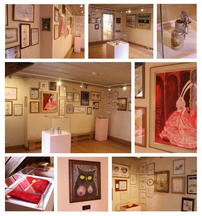 Ausstellung Lady Harvey und der Schwanzbiber
